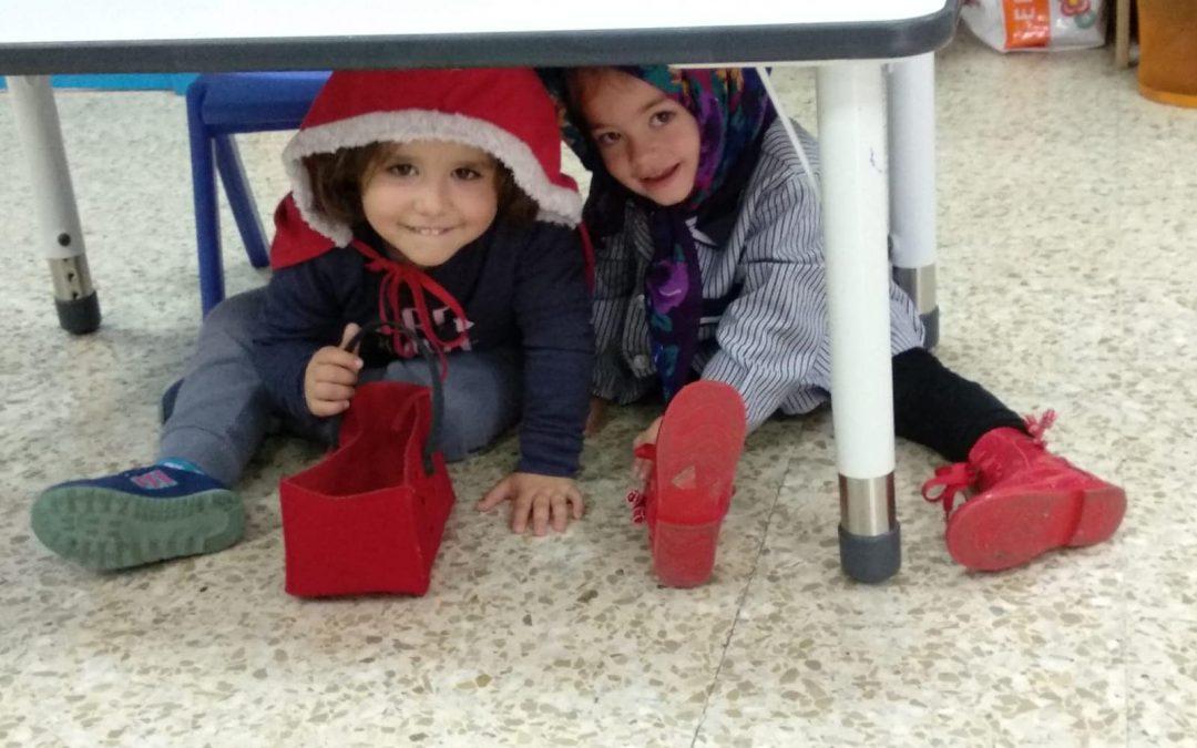 Teatro en 1º de Infantil