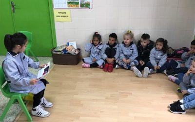 Plan Lector comienza en 3º de infantil