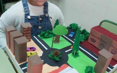 English Project «Mi ciudad». Escuela Primaria de 5º grado